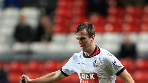 New Arsenal signing Rob Holding won Bolton's player of the year award last season
