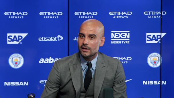 Pep Guardiola, pictured, is ready to renew his acquaintance with Jose Mourinho