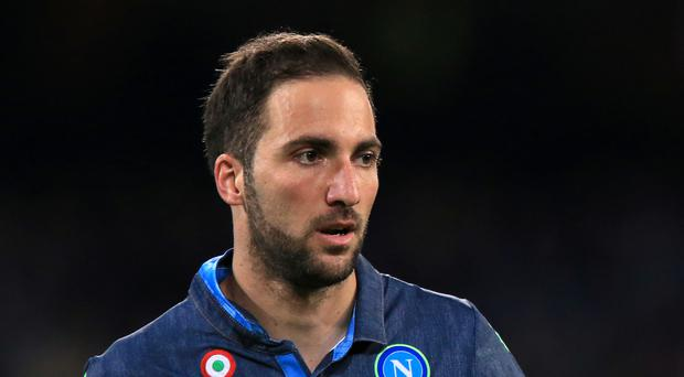 Gonzalo Higuain joining Juventus from Napoli