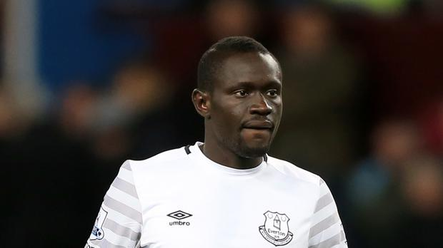 Striker Oumar Niasse has been left out of Everton's squad for friendlies in Germany.