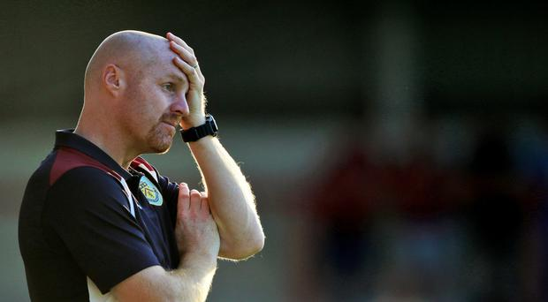Summer transfer fees are giving Burnley manager Sean Dyche a headache.