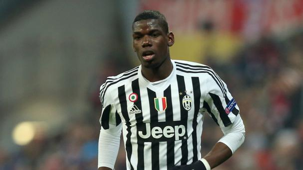 Manchester United striker Zlatan Ibrahimovic is eagerly anticipating the possible arrival of Juventus midfielder Paul Pogba (pictured)