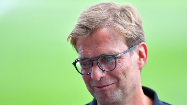 Liverpool manager Jurgen Klopp saw his side lost to Roma in St Louis