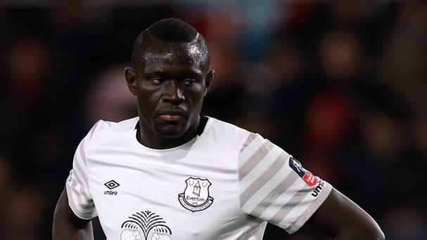 Everton striker Oumar Niasse has not been given a squad number for the coming season
