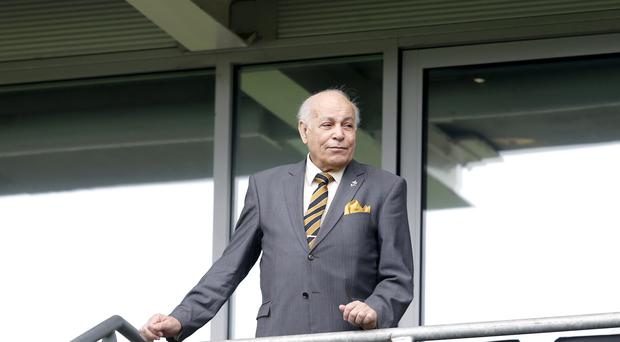 Hull fans protested against chairman Assem Allam (pictured) towards the end of last season.