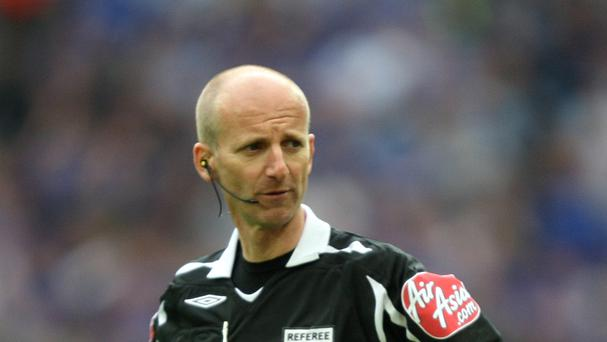 Mike Riley refereed in the top flight of English football for 13 years.