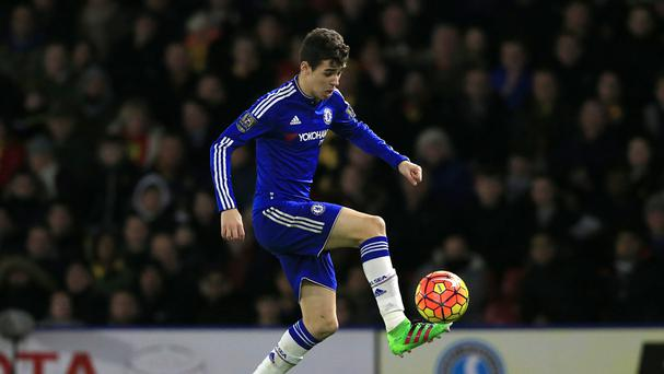 Oscar bagged a double for Chelsea
