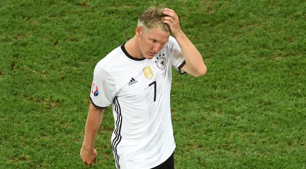 Bastian Schweinsteiger is out of favour at Manchester United