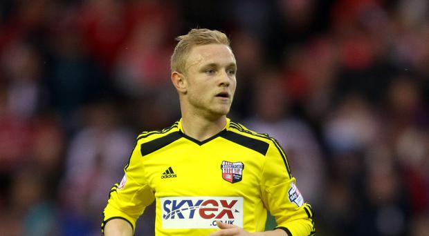 Alex Pritchard scored 12 Championship goals during a loan spell with Brentford