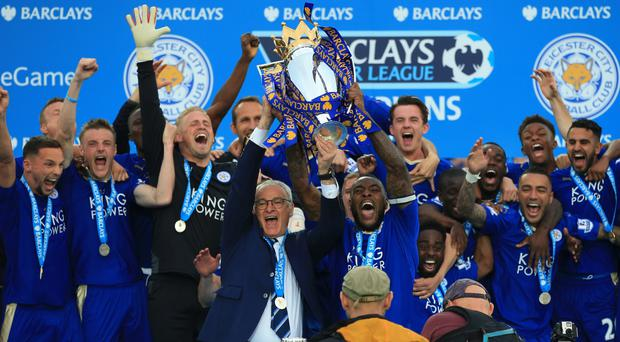 Leicester's players got a brand new car for winning the Premier League