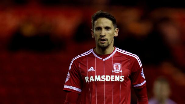 Middlesbrough signings Gaston Ramirez, pictured, and Brad Guzan have received international clearance