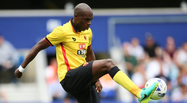 Allan Nyom is sticking with Watford