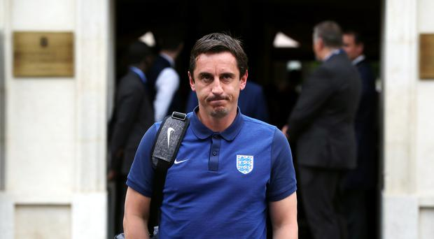 Gary Neville's managerial career appears to be on hold after his return as a TV pundit