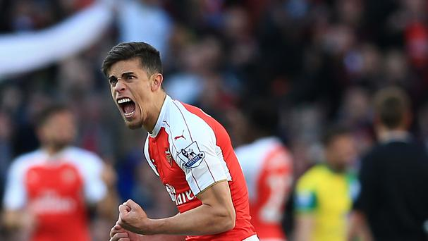 Gabriel Paulista was injured against Manchester City on Sunday