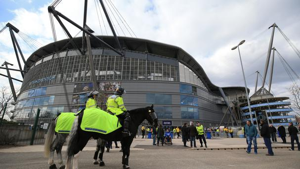 Manchester City paid more for policing than any other Premier League side in the 2015-16 season