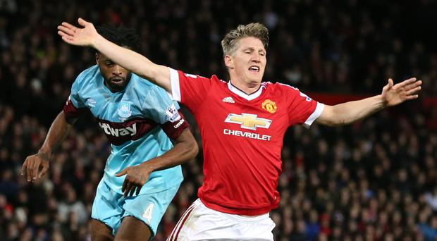 Manchester United's Bastian Schweinsteiger is attracting interest