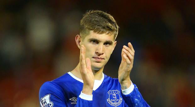 John Stones, who has completed a £47.5million move from Everton to Manchester City