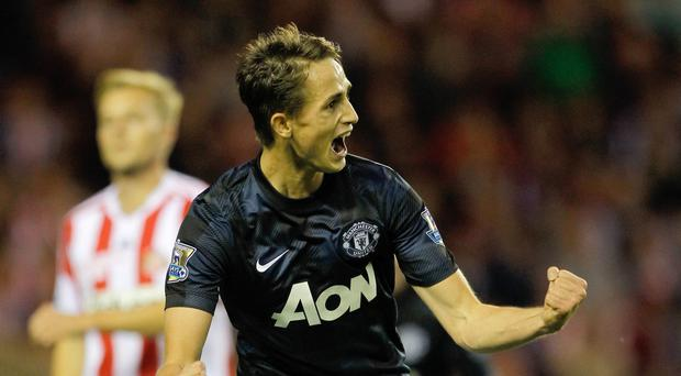 Manchester United's Adnan Januzaj is joining Sunderland on a season-long loan