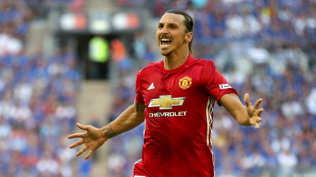 Zlatan Ibrahimovic netted the winner at Wembley last week