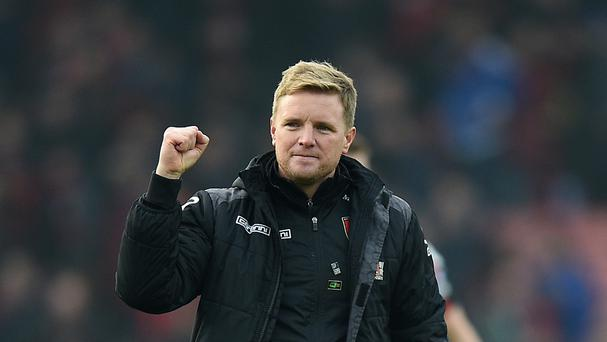Eddie Howe is excited to face Manchester United on Sunday