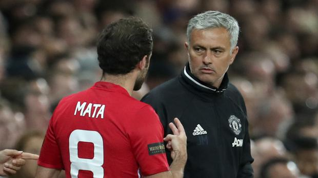 Manchester United manager Jose Mourinho insists the relationship he has with Juan Mata is fine