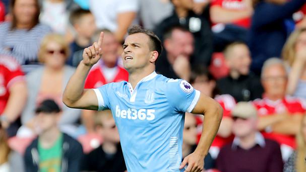 Stoke boss Mark Hughes has challenged Xherdan Shaqiri to establish himself as a match-winner