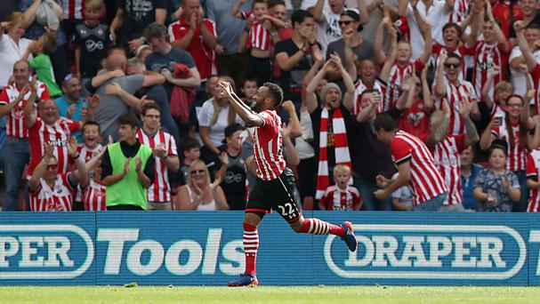 Nathan Redmond grabbed a debut goal to earn Southampton a point against Watford