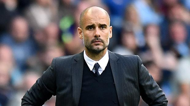 Manchester City manager Pep Guardiola sees room for improvement