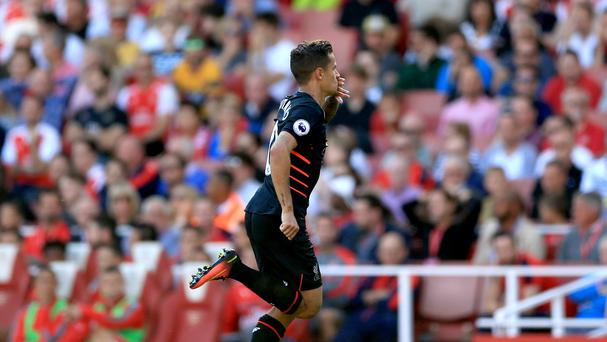 Philippe Coutinho starred in Liverpool's win at Arsenal