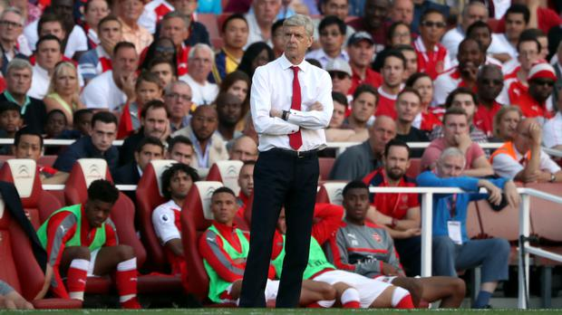 Arsene Wenger said his Arsenal side were not physically ready for the start of the new Premier League season