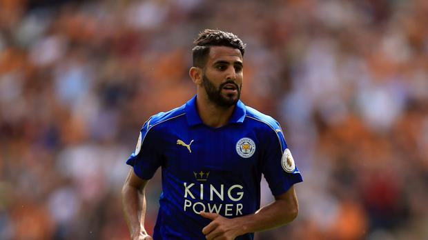 Riyad Mahrez scored in Leicester's 2-1 opening day Premier League defeat at Hull.