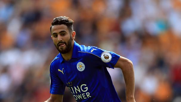 Leicester's Riyad Mahrez won the PFA Player of the Year as the Foxes clinched the Premier League last season.