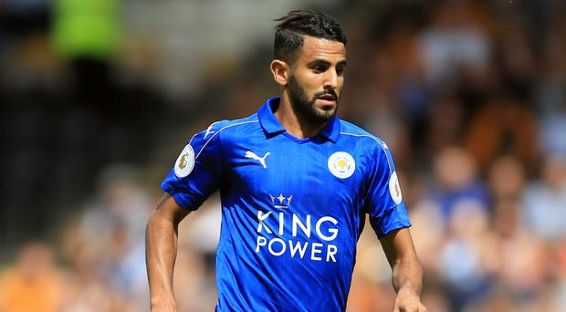 Riyad Mahrez played a vital role in Leicester's title win