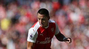 Alexis Sanchez started as Arsenal's main striker in their 4-3 defeat to Liverpool last weekend.