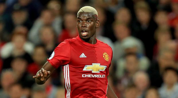 Paul Pogba, pictured, earned high praise from Manchester United boss Jose Mourinho