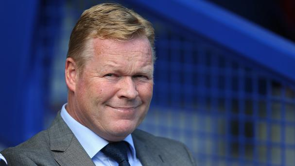 Ronald Koeman had some good news for Everton fans