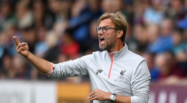 Jurgen Klopp did not enjoy his afternoon at Turf Moor