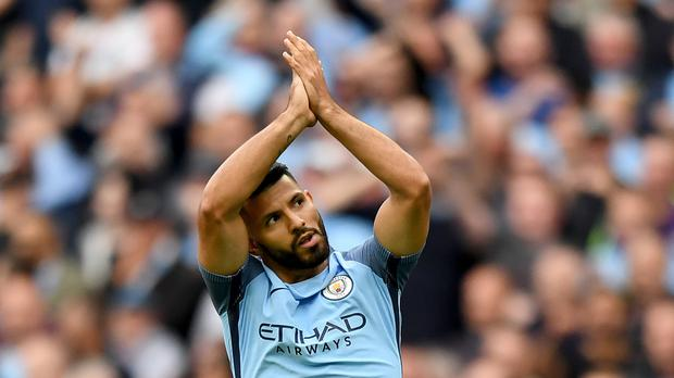 Manchester City's Sergio Aguero has made a superb start to the season