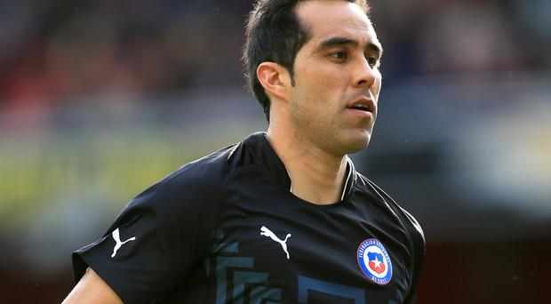 Chile goalkeeper Claudio Bravo looks set to join Manchester City from Barcelona