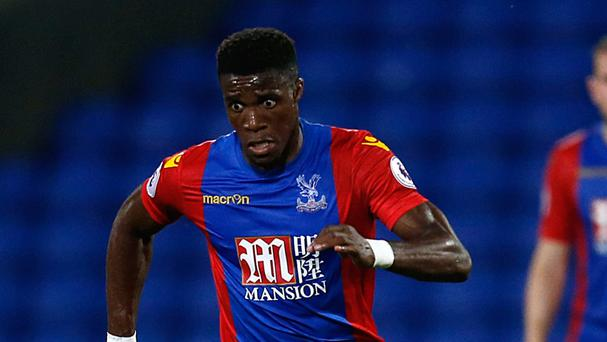 Tottenham are in talks to sign Crystal Palace winger Wilfried Zaha