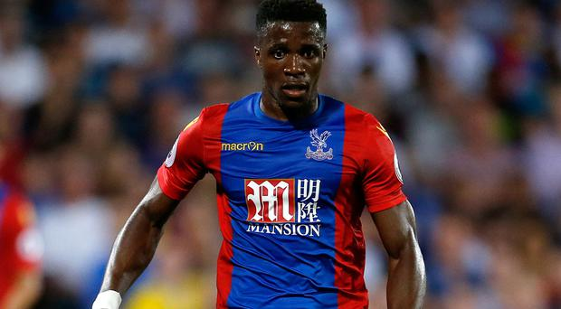Wilfried Zaha's introduction inspired Crystal Palace
