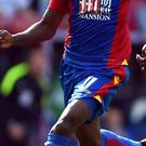 Crystal Palace's Wilfried Zaha has been the subject of interest from Premier League rivals Tottenham