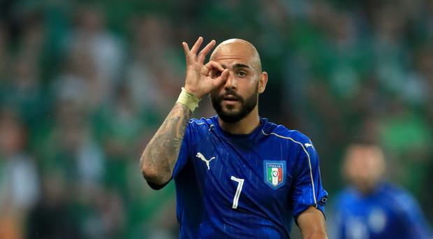 Italy striker Simone Zaza has joined West Ham on an initial season-long loan