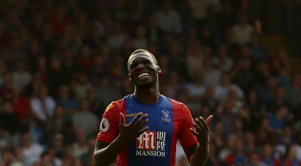 Crystal Palace's Christian Benteke got some much needed action