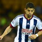 West Brom's Cristian Gamboa having medical at Celtic