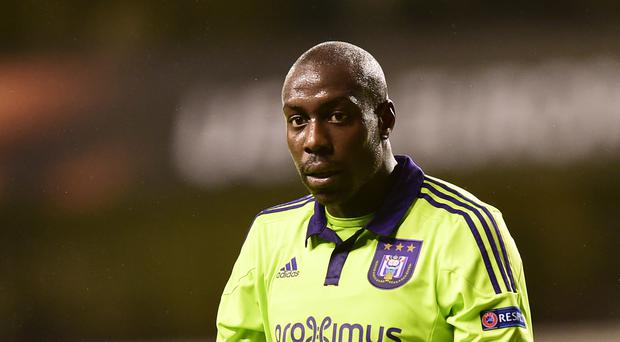 Stefano Okaka has swapped Anderlecht for Watford