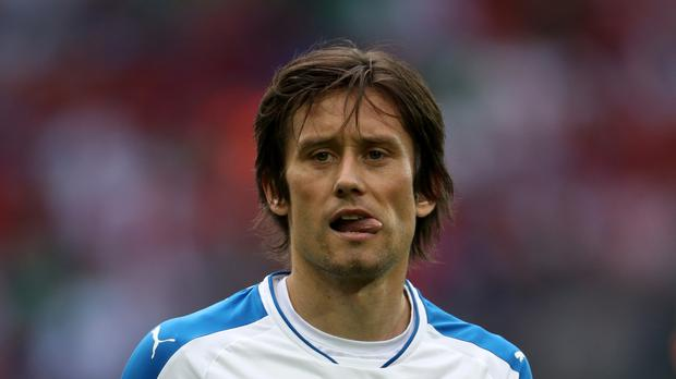Tomas Rosicky is back in the Czech Republic with Sparta Prague