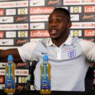 Michail Antonio will be hoping to make his England debut against Slovakia on Sunday.