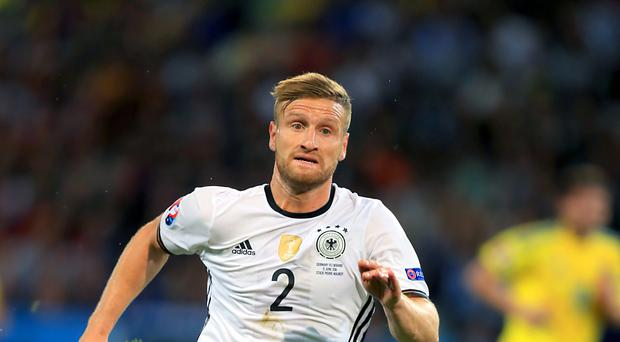 Arsenal's Shkodran Mustafi is a Germany international