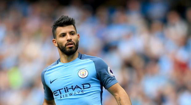 Manchester City's Sergio Aguero is to contest a charge of alleged violent conduct